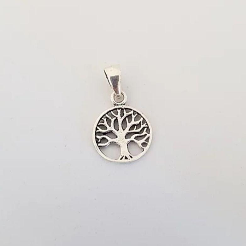 Pingente de Prata Mini Árvore da Vida