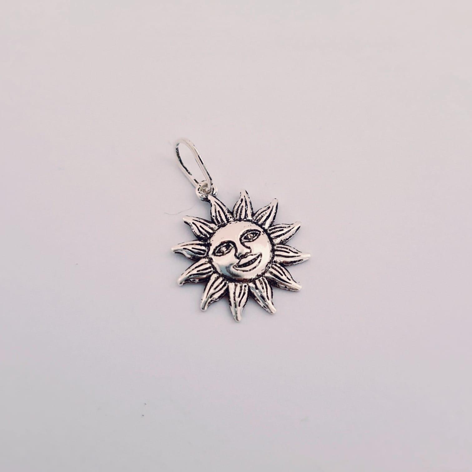 Pingente de Prata Raio de Sol
