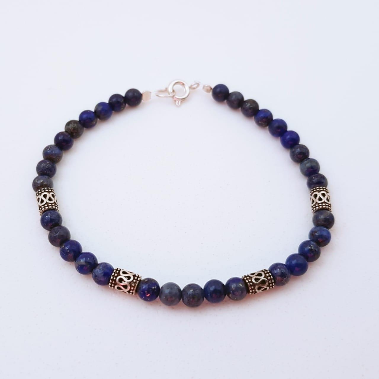 Pulseira Balinêsa Lapis Lazuli