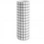Vaso Grid Longo Branco em Cimento - M ou G - UN