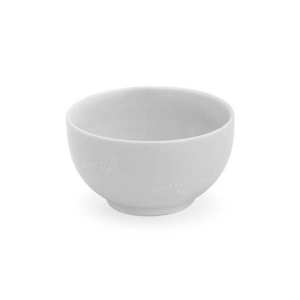 Bowl de Porcelana Branco - 10x5cm