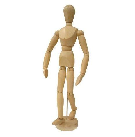 Boneco de Madeira Articulado - M / G