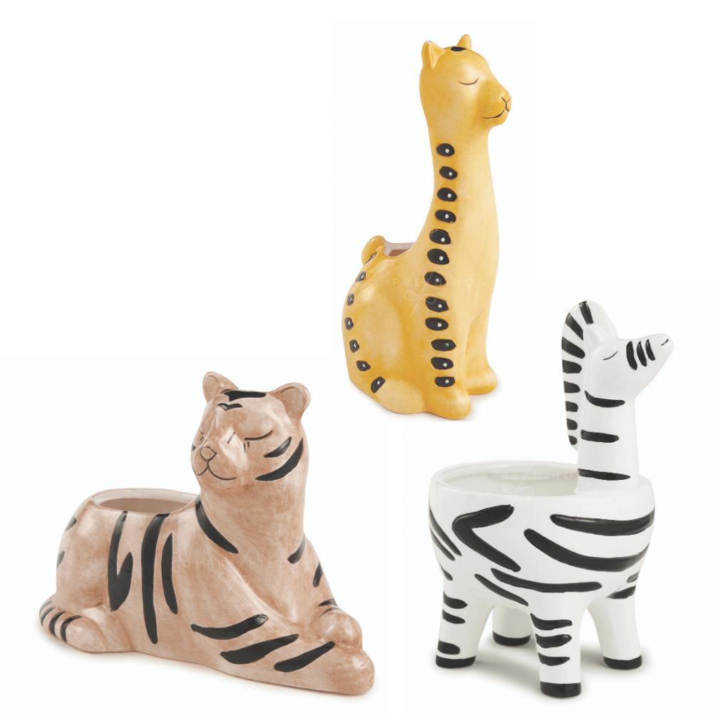 Cachepô Collection África - Cerâmica - Un