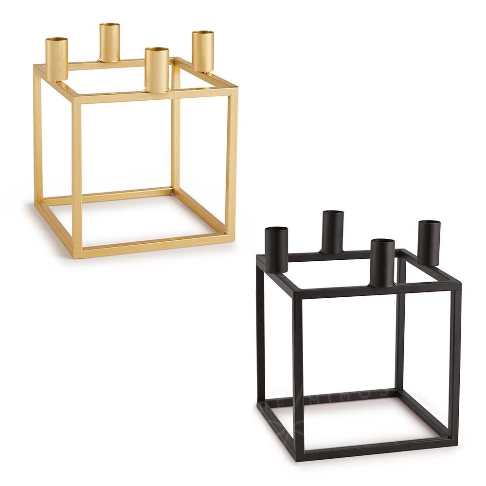 Castiçal/Porta Vela em Metal - Dourado ou Black