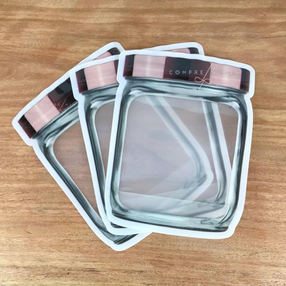 Embalagem Com Lacre - 3 Unidades - 14,5x19cm