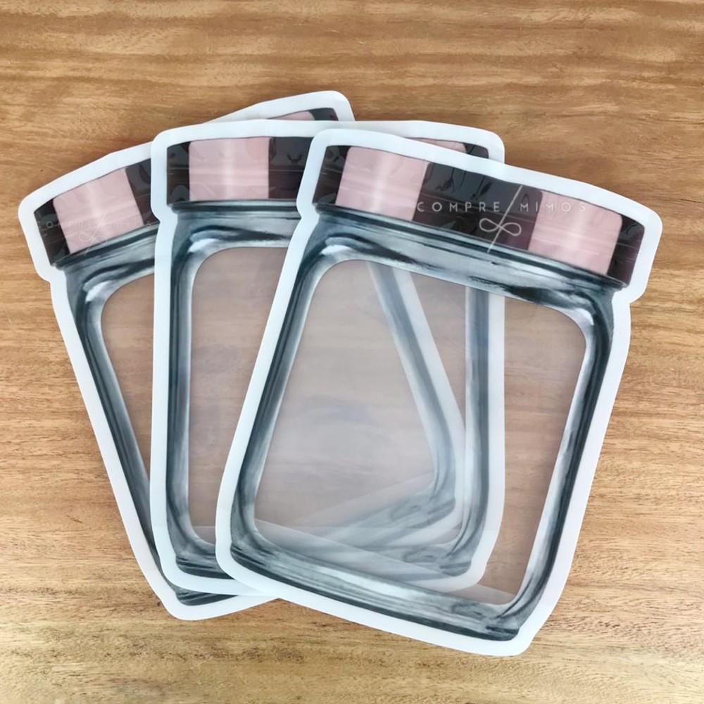 Embalagem Com Lacre - 3 Unidades - 18x24cm