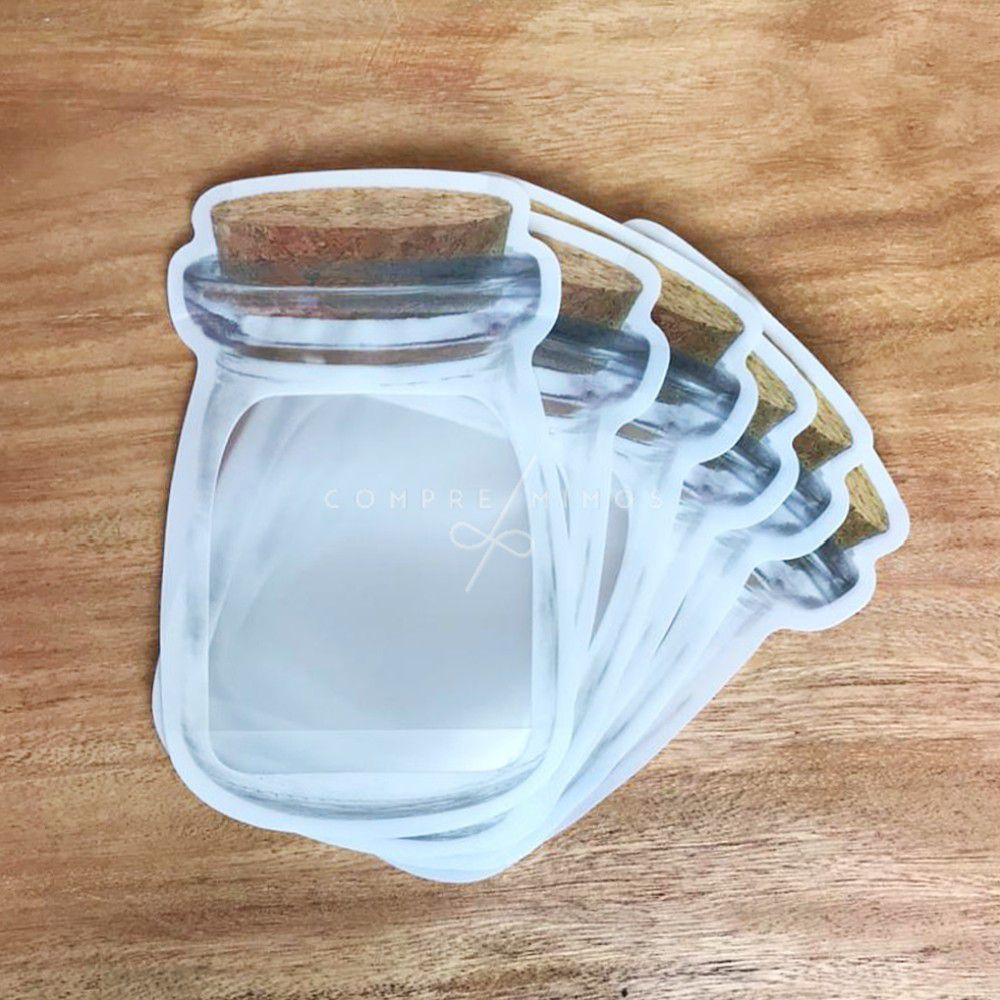 Embalagem Com Lacre - 6 Unidades - 10x15,5cm