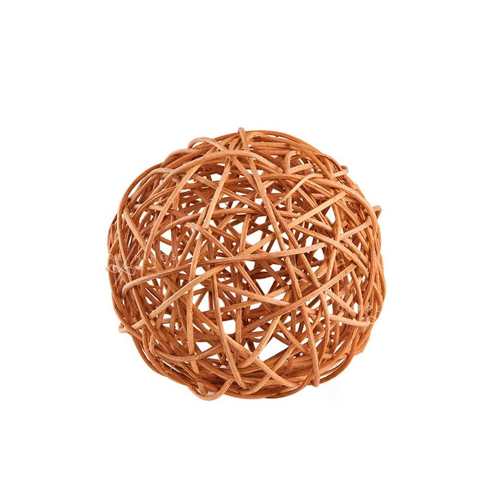 Esferas Decorativas em Ratan - 2 Opções