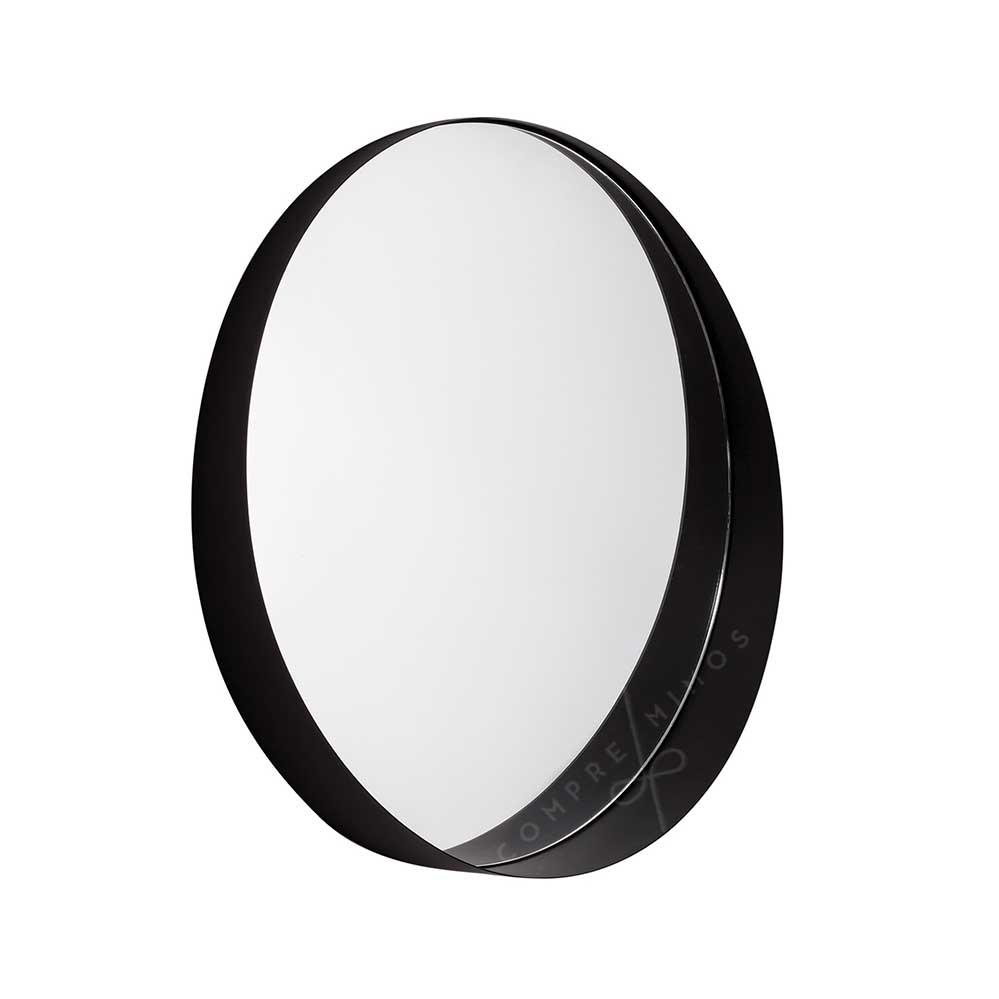 Espelho Lip Versatile Black - 50x8,5cm