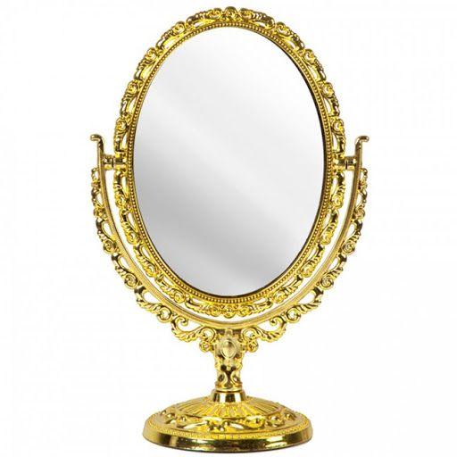 Espelho Princesa Dourado