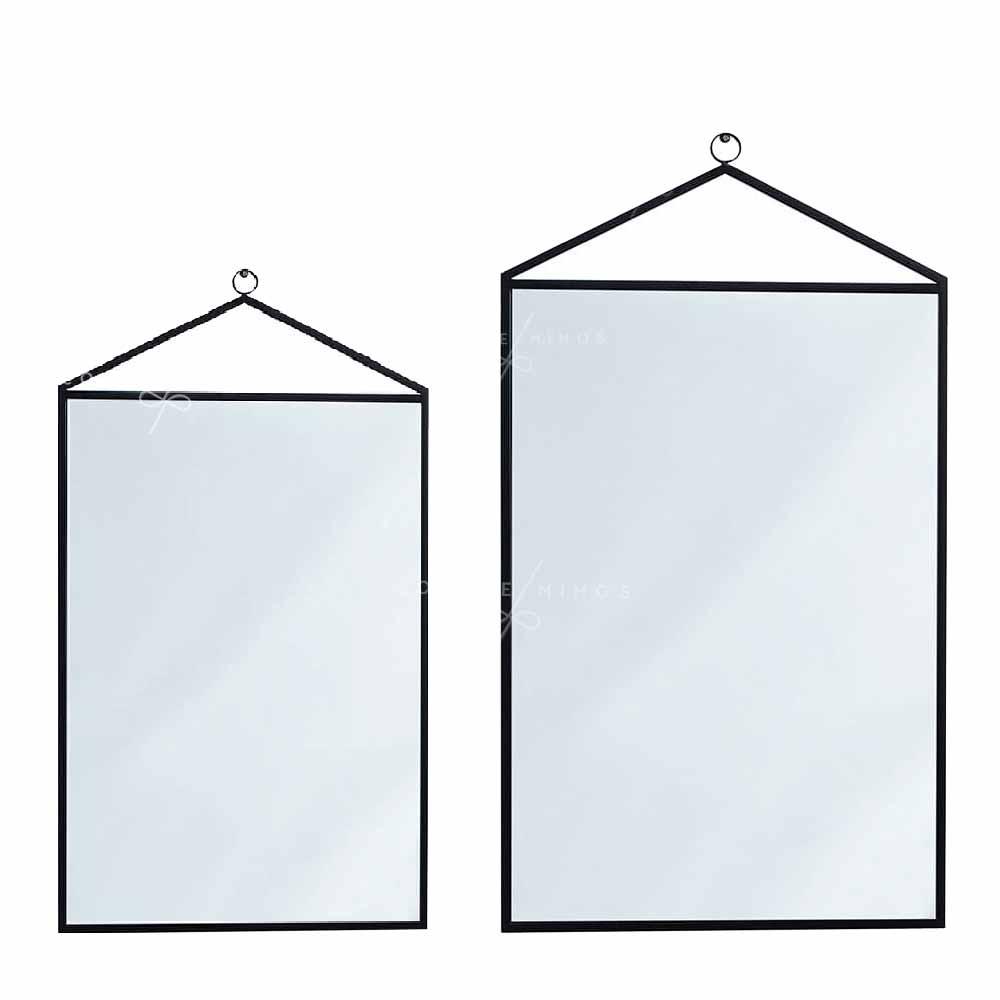 Espelho Slim Black - Retangular - M ou G - UN
