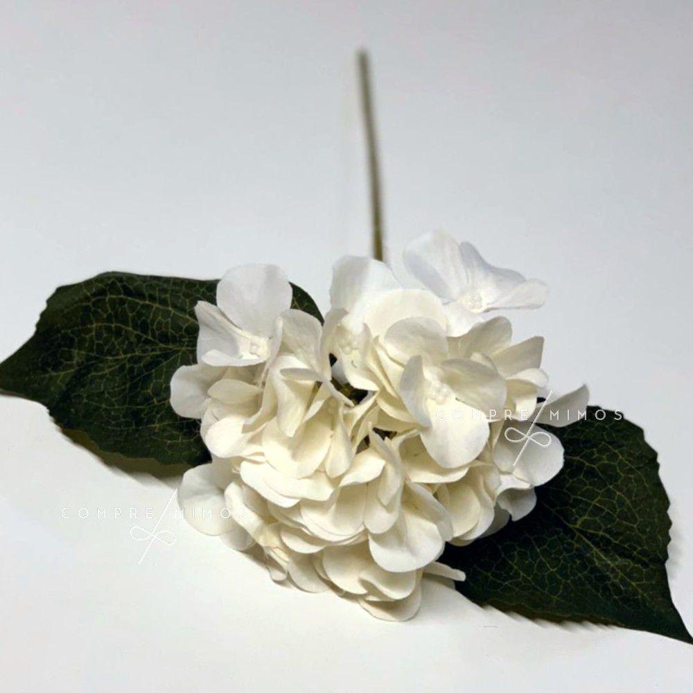 Flor Hortênsia  - 4 Opções de Cores - Unidade