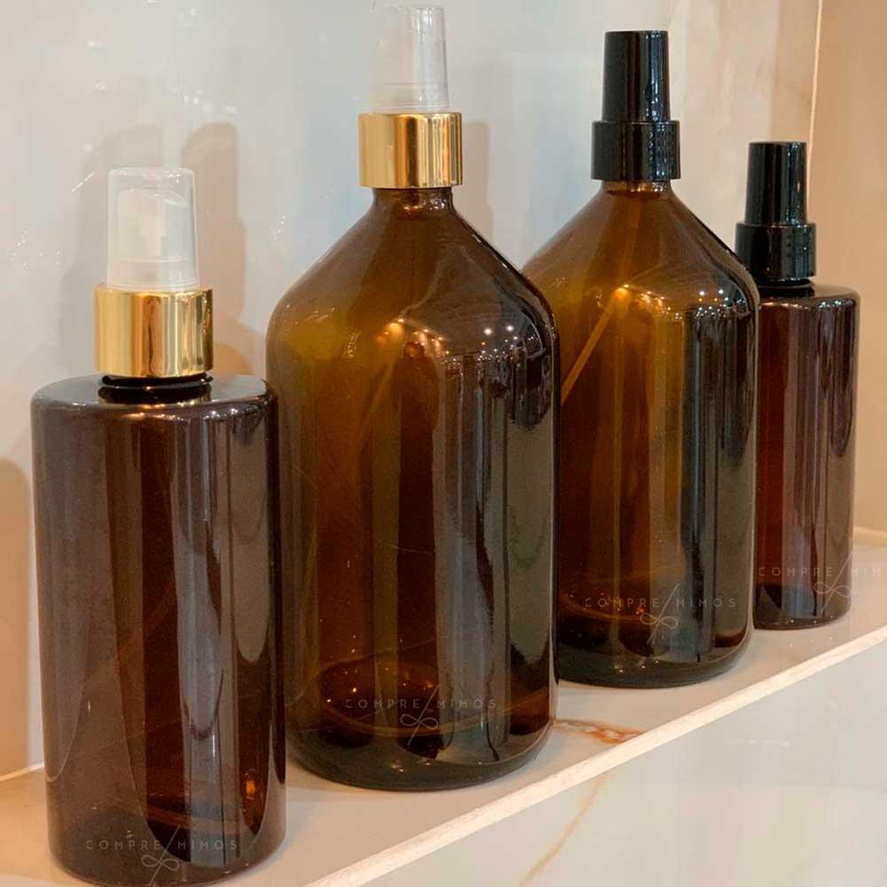 Frasco/Vaso Âmbar Scandi - 200 ou 500 ml