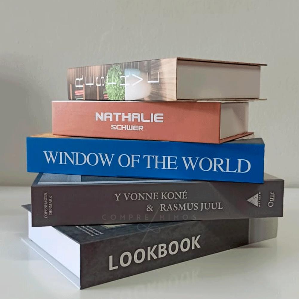 Livro Decorativo de Papel - UN