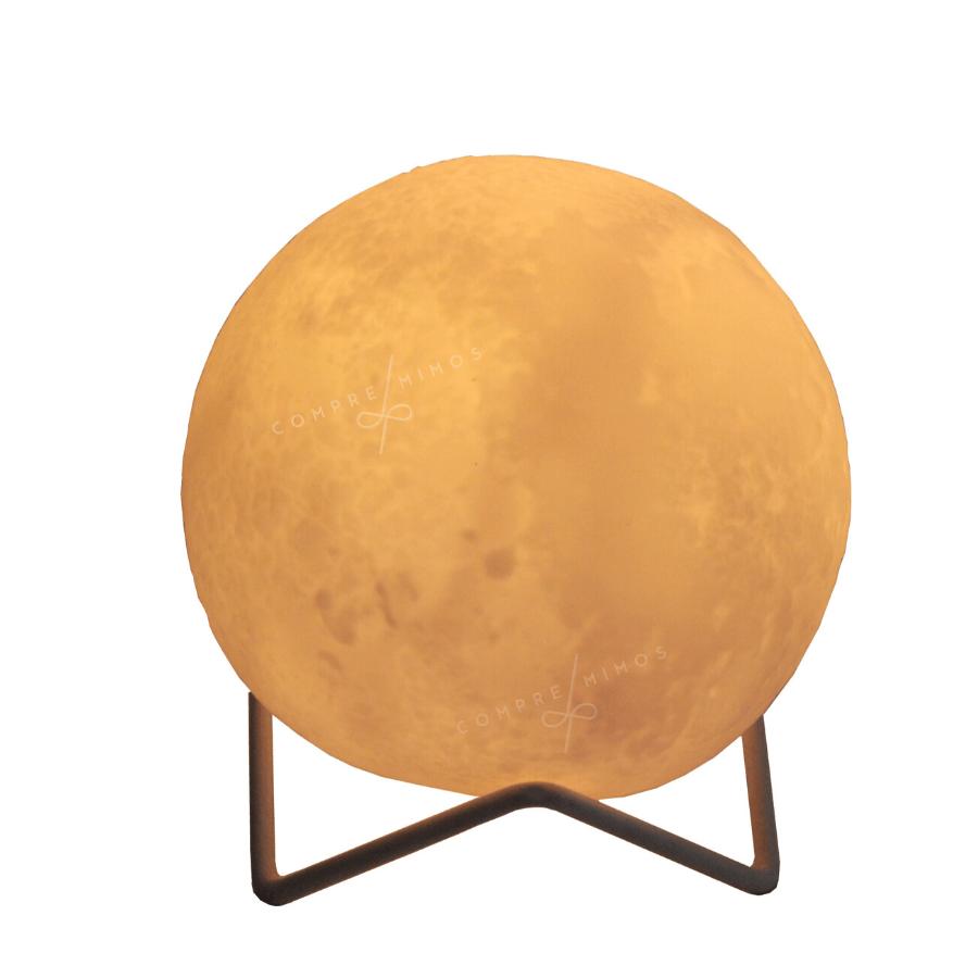 Luminária de Lua Redonda