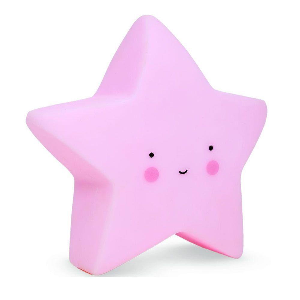 Luminária Estrela Baby - Azul, Rosa e Branca