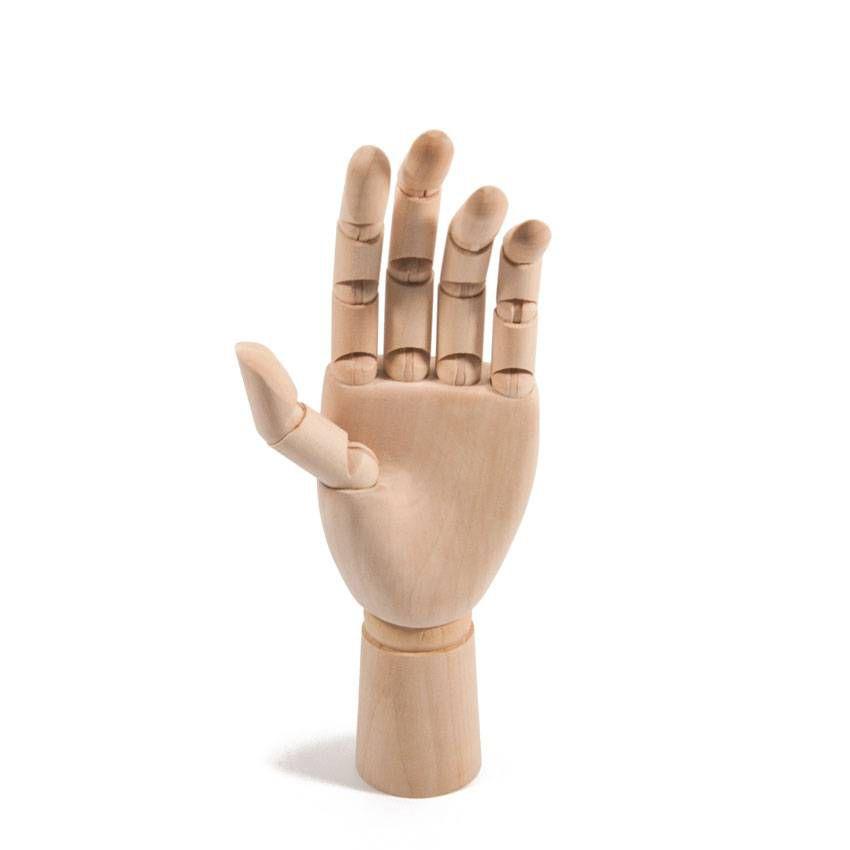 Mão de Madeira Articulada - M e G
