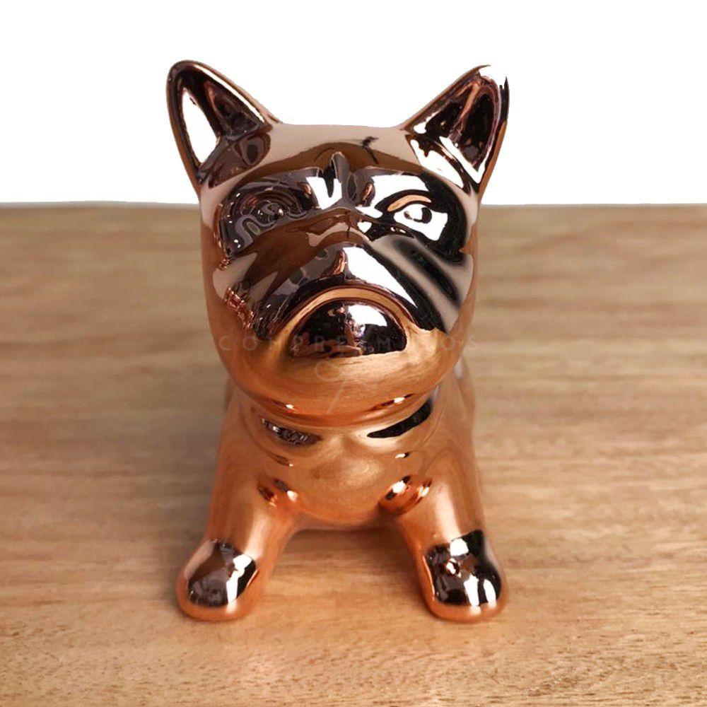 Miniatura de Bulldog Cromado Rose Gold - G