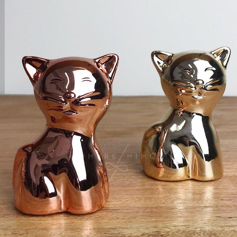 Miniatura de Gatinho Cromado