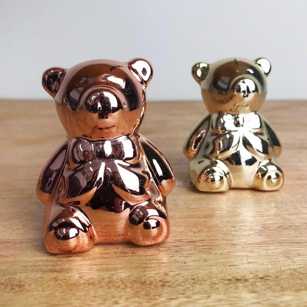 Miniatura de Ursinho Cromado