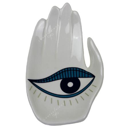 Pratinho Mão Olho Azul - Coleção Mistic