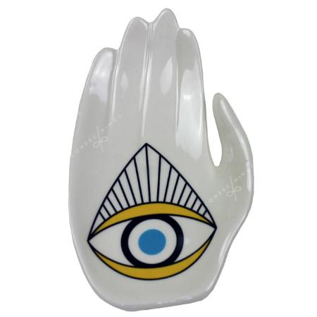 Pratinho Mão Olho Triangulo - Coleção Mistic