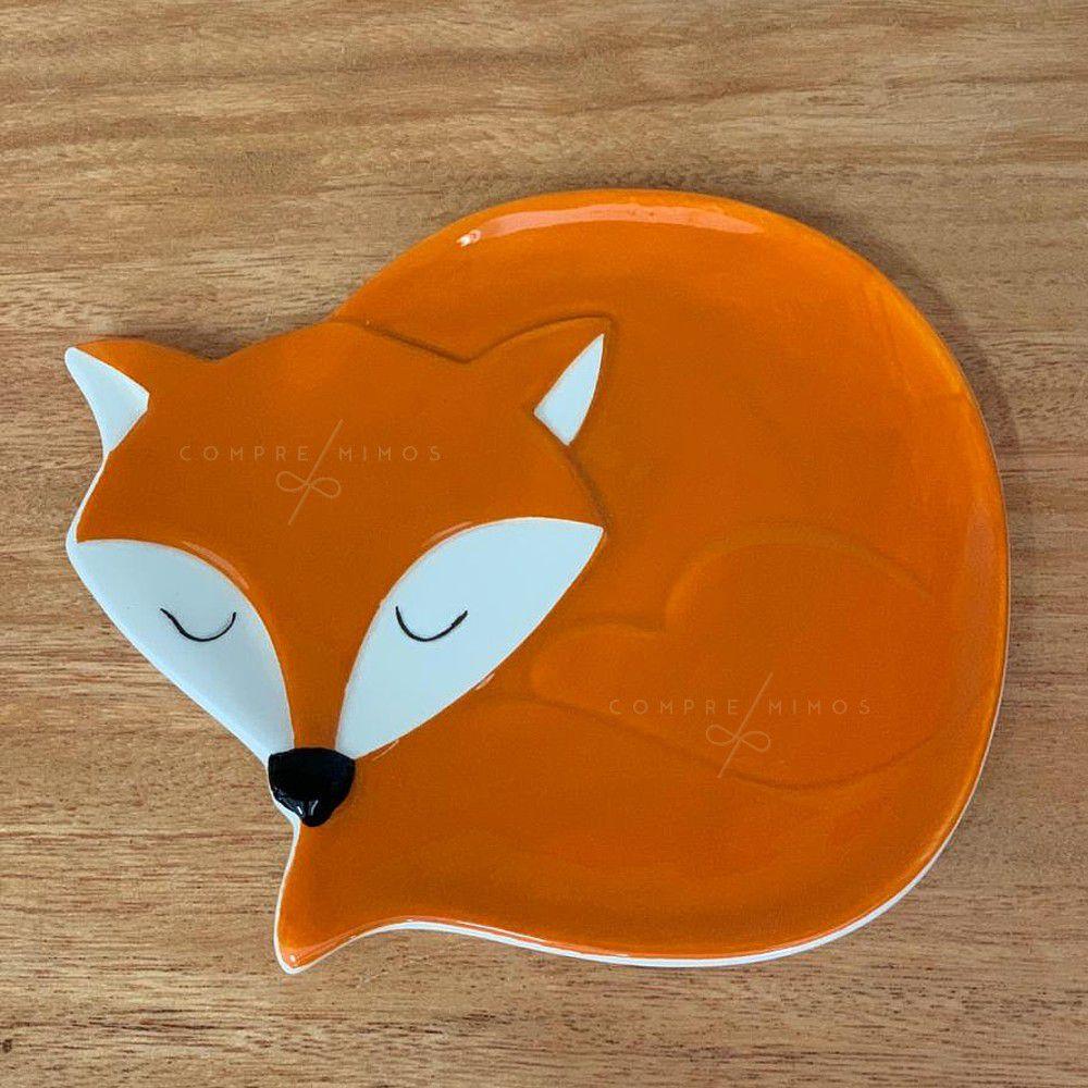 Pratinho/Porta joias Raposinha/Fox