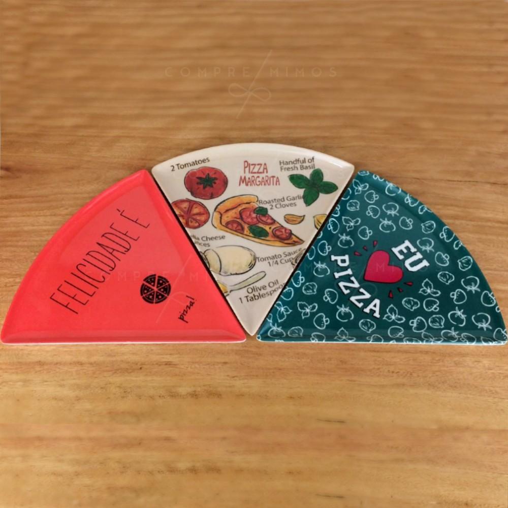 Prato para Pizza - 3 opções - 22cm