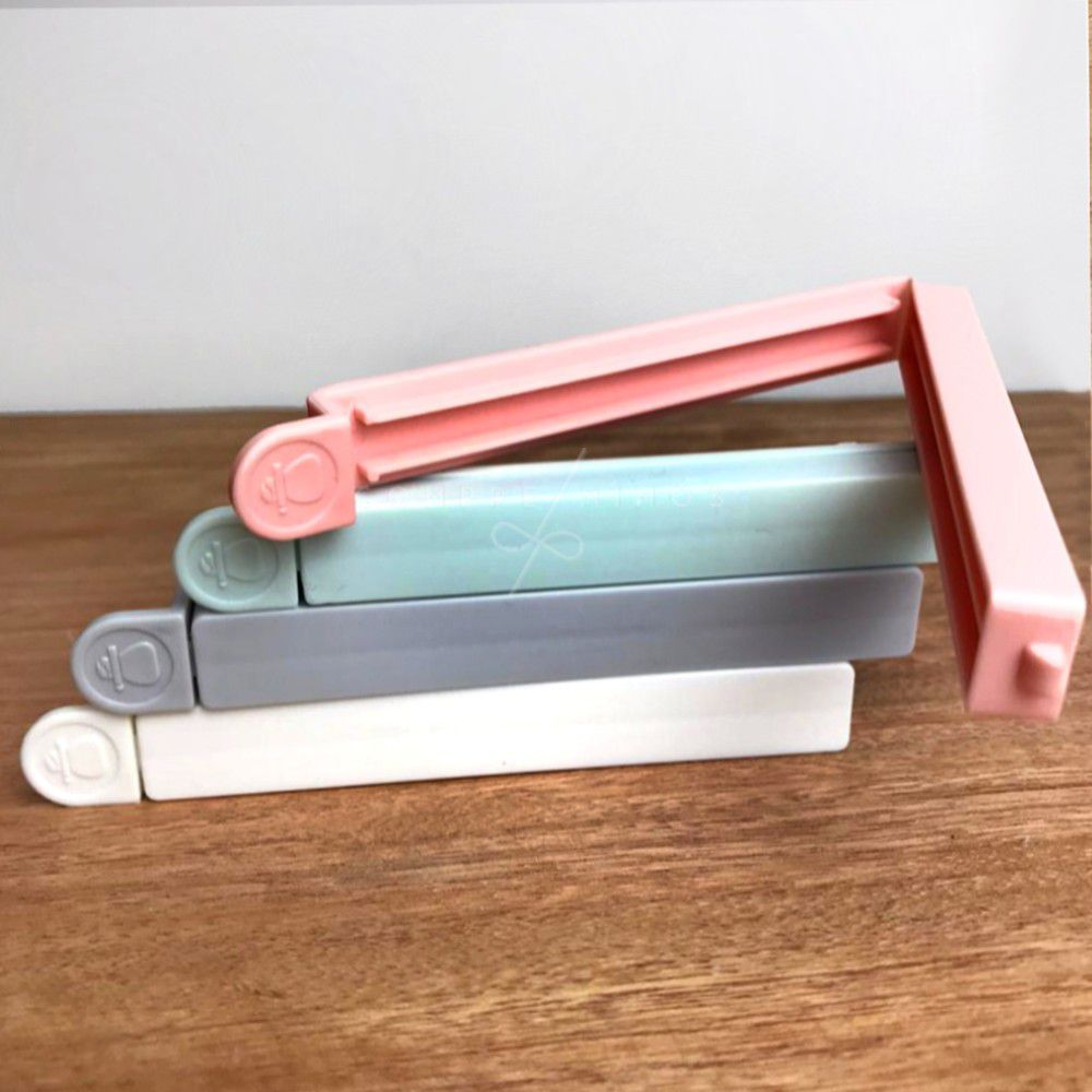 Prendedor de Embalagens Candy Colors - 4 Unidades