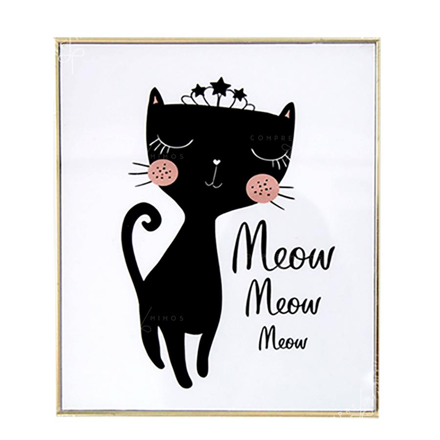Quadro gatinhos - 4 Opções
