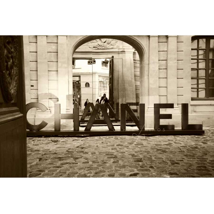 Quadro Chanel Le Marais