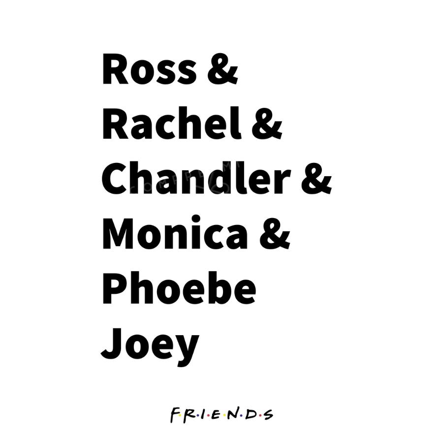 Quadro Coleção  Friends - 2