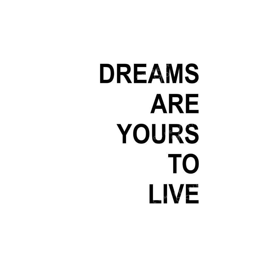 Quadro Dreams Are Yours To Live