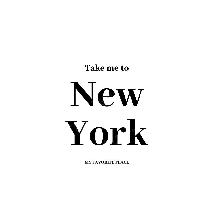 Quadro New York White