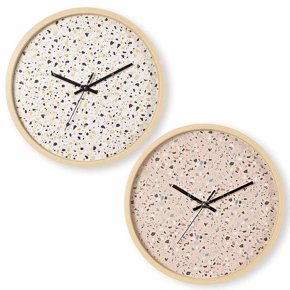 Relógio de Parede Granilite - 30,5x4cm