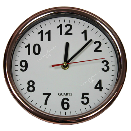 Relógio de Parede Rosê - 22cm