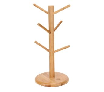 Suporte para Xícaras em Bambu