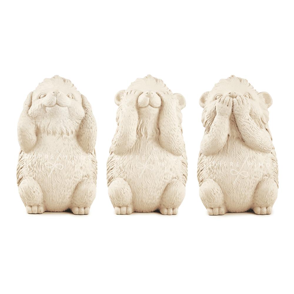 Trio Esquilinhos  da Sabedoria em Cimento
