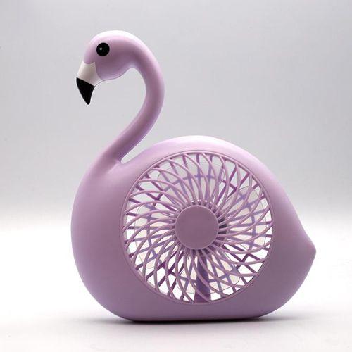 Ventilador De Mesa - Flamingo