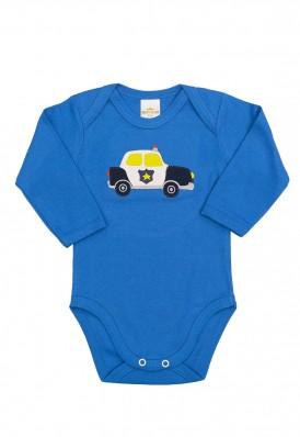 Body Best Club Baby azul com bordado carro