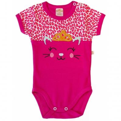 Body Best Club Baby Pink Bordado Gatinha