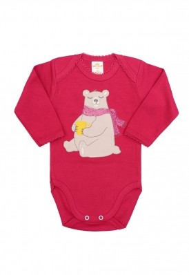 Body Best Club Baby pink com bordado urso