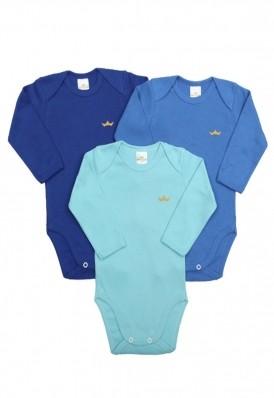 Kit 3 peças body Best Club Baby azul