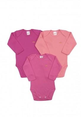 Kit 3 peças body Best Club Baby pink