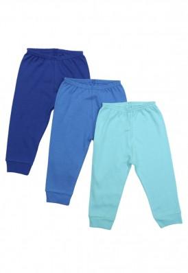 Kit 3 peças calça Best Club Baby azul