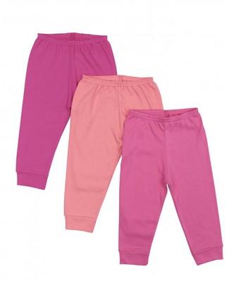 Kit 3 peças calça Best Club Baby pink