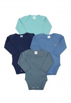 Kit 4 peças body Best Club Baby azul