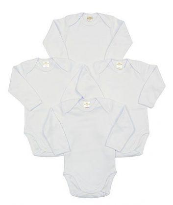 Kit 4 peças body Best Club Baby branco