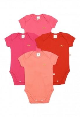 Kit 4 peças body Best Club Baby pink
