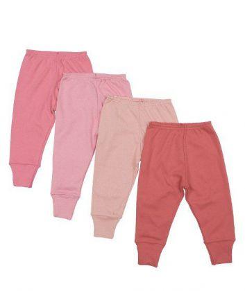Kit 4 peças calça Best Club Baby pink